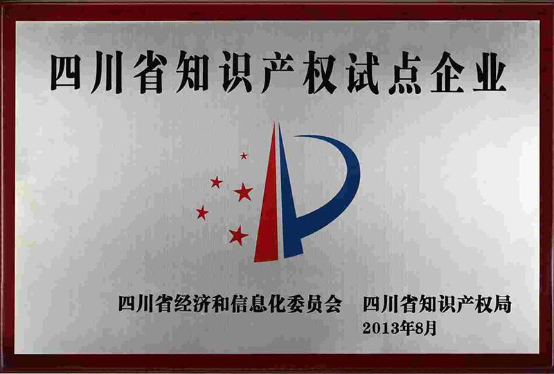四川省知识产权试点企业